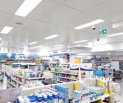 Painel LED Retangular Embutir Farmácias