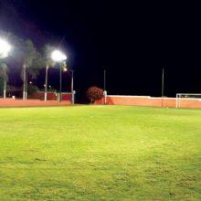Iluminação LED Campo de Futebol