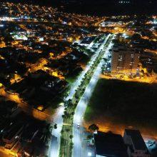 Iluminação LED cidade de Caçapava SP