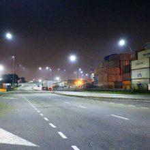Iluminação LED Externa Porto Santos