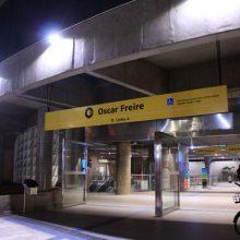 Iluminação LED Metrô Oscar Freire SP