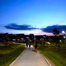 Iluminação LED cidade de Mairiporã SP