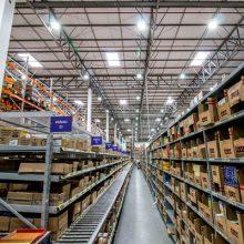 Iluminação LED indústria Farmacêutica Centro de distribuição