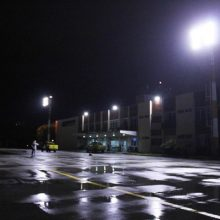 Iluminação LED para aeroportos campo de marte