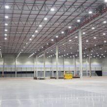 Iluminação LED para galpões industriais