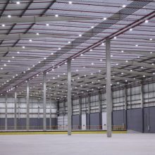 Iluminação LED para galpões logísticos
