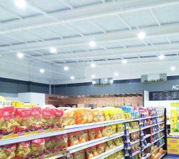 Iluminação Supermercados