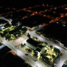 Iluminação led viária cidade de bofete