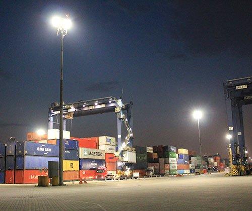 Super Projetor SX Lighting Iluminação LED para portos aeroportos campos de futebol quadras ginásios