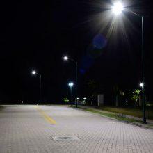 iluminação LED condomínio residencial
